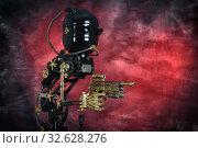 Вооруженный механический лакей. Ретрофутуризм. Стоковое фото, фотограф Валерий Александрович / Фотобанк Лори