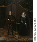 Купить «Sofia and Kristian I, Christian I, 1560-1591, curator of Saxony, Sofia, 1568-1622, Princess of Brandenburg, painting, oil on canvas, Framed, Height, 102...», фото № 32629864, снято 5 июля 2019 г. (c) age Fotostock / Фотобанк Лори