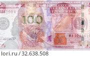 Купить «American dollar banknote is replaced by chinese yuan», видеоролик № 32638508, снято 13 декабря 2019 г. (c) FotograFF / Фотобанк Лори