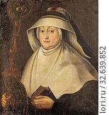 Krystyna Eufemia Radziwill, Krystyna Eufemia Radzivill (1598-1657), At the Benedictine convent in Nesviz, abbess in the Benedictine monastery of Nieswiez... (2019 год). Редакционное фото, фотограф ARTOKOLORO QUINT LOX LIMITED / age Fotostock / Фотобанк Лори