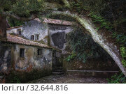 Convent of the Capuchos, Sintra, Lisbon, Portugal, Europe. Стоковое фото, фотограф Joana Kruse / age Fotostock / Фотобанк Лори