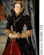 Купить «Portrait of a Lady of the Wentworth Family (Probably Jane Cheyne), 1563, Hans Eworth, Netherlandish, active England 1545–73/74, Flanders, Oil on panel, 43 9/16 × 31 5/16 in. (110.6 × 79.5 cm)», фото № 32666132, снято 27 мая 2020 г. (c) age Fotostock / Фотобанк Лори