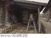 "Museum of Zaporizhian Cossacks ""Zaporizhian Sich"" of Khortytsia, Zaporozhye city, Ukraine (2019 год). Стоковое фото, фотограф Некрасов Андрей / Фотобанк Лори"