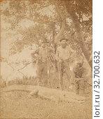 Alligators & Natives, David J. Ryan (American, born 1837), about 1870, Albumen silver print (2019 год). Редакционное фото, фотограф ARTOKOLORO QUINT LOX LIMITED / age Fotostock / Фотобанк Лори