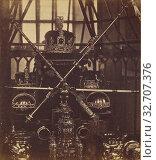 Купить «Tower of London. The Regalia of England Kept in the Wakefield Tower., Unknown maker, British, about 1865, Albumen silver print», фото № 32707376, снято 17 июня 2019 г. (c) age Fotostock / Фотобанк Лори