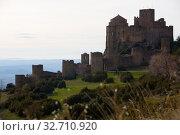 Купить «Loarre Castle, Huesca Province, Aragon, Spain», фото № 32710920, снято 2 декабря 2018 г. (c) Яков Филимонов / Фотобанк Лори