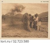 Le Blûtage, Frédéric Boissonnas (Swiss, 1858 - 1946), Geneva, Switzerland, 1910, Heliogravure / Photolithograph, 7.6 × 10.2 cm (3 × 4 in.) (2019 год). Редакционное фото, фотограф ARTOKOLORO QUINT LOX LIMITED / age Fotostock / Фотобанк Лори
