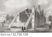 Купить «The Leviathan of Parsonstown, the 72 inch telescope built by William Parsons, 3rd Earl of Rosse, in 1845. It was located at Birr Castle, Parsonstown, County...», фото № 32726128, снято 28 июня 2019 г. (c) age Fotostock / Фотобанк Лори