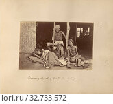 Deserving objects of gratuitous relief, Willoughby Wallace Hooper (English, 1837 - 1912), India, about 1877, Albumen silver print, 10.1 x 15.7 cm (4 x 6 3/16 in.) (2019 год). Редакционное фото, фотограф ARTOKOLORO QUINT LOX LIMITED / age Fotostock / Фотобанк Лори