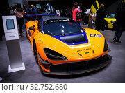 Купить «McLaren Senna GTR», фото № 32752680, снято 10 марта 2019 г. (c) Art Konovalov / Фотобанк Лори
