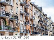 Residential building, Copenhagen, Denmark (2019 год). Стоковое фото, фотограф Маврин Владислав / Фотобанк Лори
