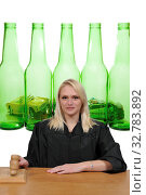 Купить «Woman District Supreme Appeals or Superior Court Judge or Magistrate», фото № 32783892, снято 3 июля 2020 г. (c) easy Fotostock / Фотобанк Лори