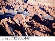 Купить «Valle de la Muerte in der Atacama Wüste in Chile», фото № 32806448, снято 29 мая 2020 г. (c) easy Fotostock / Фотобанк Лори