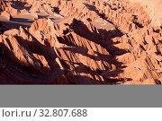 Купить «Valle de la Muerte in der Atacama Wüste in Chile», фото № 32807688, снято 29 мая 2020 г. (c) easy Fotostock / Фотобанк Лори