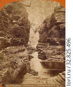 Купить «Elfin Gorge, - looking down, Watkins Glen, N.Y., James Douglas Hope (American, 1846 - 1929), 1868–1878, Albumen silver print», фото № 32825496, снято 17 июня 2019 г. (c) age Fotostock / Фотобанк Лори