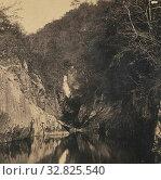 View Below Thornton Force. Craven, England, M. Horner (British, active Settle, England 1860s), 1860s, Albumen silver print (2019 год). Редакционное фото, фотограф ARTOKOLORO QUINT LOX LIMITED / age Fotostock / Фотобанк Лори