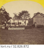 Купить «South front of House from below the Wall. Rest Valley, Canterbury, New Hampshire. The Old Homestead of Hon. J.M. Harper, Willis G.C. Kimball (American, 1843 - 1916), about 1880, Albumen silver print», фото № 32826872, снято 17 июня 2019 г. (c) age Fotostock / Фотобанк Лори