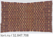 Ewe, African, Agbamuvor, late 19th or early 20th century, cotton, Overall: 112 3/4 × 69 inches (286.4 × 175.3 cm) Редакционное фото, фотограф ARTOKOLORO QUINT LOX LIMITED / age Fotostock / Фотобанк Лори