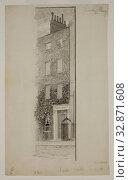 Homer Dodge Martin, American, 1836-1897, Becky Sharpe's House, middle 19th/late 19th Century. Редакционное фото, фотограф ARTOKOLORO QUINT LOX LIMITED / age Fotostock / Фотобанк Лори