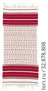 Купить «Woman's wrapper (fouta), Jabala people, Berber peoples, early 20th century, cotton with discontinuous cotton supplementary weft, 70 x 28-1/2 in. (with...», фото № 32878808, снято 24 сентября 2019 г. (c) age Fotostock / Фотобанк Лори