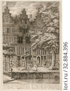 Купить «Burnt out house on Herengracht, 1683 Image of a rank of houses, on the Heere graft: in the middle one, between the 25th and 26th of April 1683, during...», фото № 32884396, снято 8 июля 2020 г. (c) age Fotostock / Фотобанк Лори