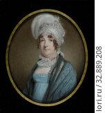 Купить «Quirina Catharina des H.R. Rijksbarones von Friesheim (1764-1822), Portrait of Quirina Catharina, Countess of Friesheim (1764-1822), second wife of Johan...», фото № 32889208, снято 27 февраля 2020 г. (c) age Fotostock / Фотобанк Лори