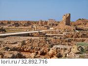 Купить «The remains of the ancient Roman Houses. Paphos Archaeological Park. Cyprus», фото № 32892716, снято 8 июня 2018 г. (c) Serg Zastavkin / Фотобанк Лори