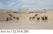 Купить «Doha, Qatar - Nov 20. 2019. Katara Amphitheatre in the Katara Village», видеоролик № 32914280, снято 10 января 2020 г. (c) Володина Ольга / Фотобанк Лори