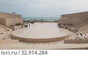 Купить «Doha, Qatar - Nov 20. 2019. Katara Amphitheatre in the Katara Village», видеоролик № 32914284, снято 10 января 2020 г. (c) Володина Ольга / Фотобанк Лори