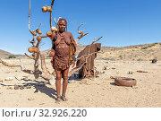 Купить «Namibia, Africa. Himba tribe. Kaokoland.», фото № 32926220, снято 7 июня 2019 г. (c) age Fotostock / Фотобанк Лори