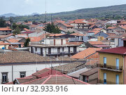 Roofs of Randazzo town and comune in the Metropolitan City of Catania, Sicily, southern Italy. Стоковое фото, фотограф Konrad Zelazowski / easy Fotostock / Фотобанк Лори