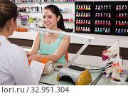 Manicure masters working. Стоковое фото, фотограф Яков Филимонов / Фотобанк Лори