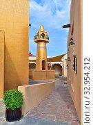 Купить «Золотая мечеть в Katara Cultural Village в Дохе, Катар», фото № 32954212, снято 20 ноября 2019 г. (c) Володина Ольга / Фотобанк Лори