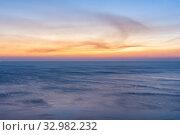 Купить «sea horizon after sunset», фото № 32982232, снято 6 октября 2018 г. (c) Иванов Алексей / Фотобанк Лори