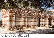 Church of St John Aliturgetos, Nessebar (2019 год). Стоковое фото, фотограф Юлия Бабкина / Фотобанк Лори