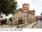 Church of John the Baptist in Nessebar (2019 год). Редакционное фото, фотограф Юлия Бабкина / Фотобанк Лори