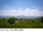 Купить «Beautiful summer landscape in the northern part of Montenegro», фото № 32984384, снято 14 июня 2019 г. (c) Володина Ольга / Фотобанк Лори