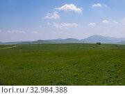 Купить «Beautiful summer landscape in the northern part of Montenegro», фото № 32984388, снято 14 июня 2019 г. (c) Володина Ольга / Фотобанк Лори