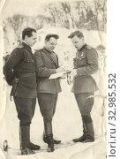 Купить «Февраль 1944. Ровно.  В дни отечественной войны», фото № 32985532, снято 13 июля 2020 г. (c) Retro / Фотобанк Лори