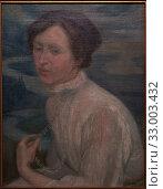 'Portrait of Angelina Beloff', 1909, Diego Rivera (1886-1957) (2019 год). Редакционное фото, фотограф Artelan / age Fotostock / Фотобанк Лори