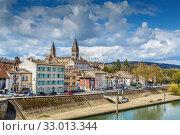 View of Tournus, France (2019 год). Стоковое фото, фотограф Boris Breytman / Фотобанк Лори