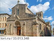 Saint Madeleine Church, Tournus, France (2019 год). Стоковое фото, фотограф Boris Breytman / Фотобанк Лори