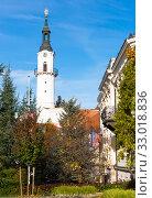 Center of Veszprem, Hungary (2017 год). Стоковое фото, фотограф Яков Филимонов / Фотобанк Лори
