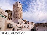 Exterior view to Mister Ramadan mosque, Casbah of Algiers, Alger (2017 год). Стоковое фото, фотограф Сергей Майоров / Фотобанк Лори