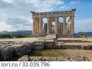 Купить «Храм Афайи, остров Эгина, Греция», фото № 33039796, снято 21 января 2020 г. (c) Ирина Яровая / Фотобанк Лори