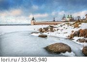 Крепость Кириллова Kirillo-Belozerskaya fortress (2020 год). Стоковое фото, фотограф Baturina Yuliya / Фотобанк Лори