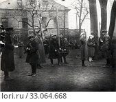 Военнослужащие, связисты. 1930-годы. Стоковое фото, фотограф Retro / Фотобанк Лори