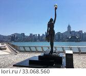 Купить «Replica of the Hong Kong Film Awards, in Hong Kong», фото № 33068560, снято 20 сентября 2019 г. (c) Александр Подшивалов / Фотобанк Лори