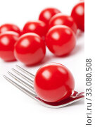 Купить «cherry tomato», фото № 33080508, снято 6 июня 2020 г. (c) PantherMedia / Фотобанк Лори