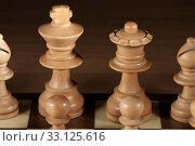 Купить «white chess», фото № 33125616, снято 26 февраля 2020 г. (c) PantherMedia / Фотобанк Лори